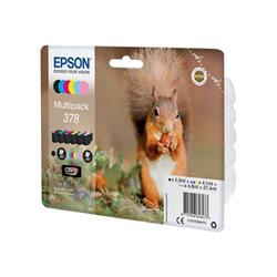 Cartuccia Epson - Multipack 378 - confezione da 6 c13t37884010