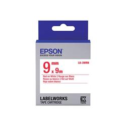 Nastro Epson - Labelworks lk-3wrn - rotolo di etichette - 1 cassetta(e) c53s653008