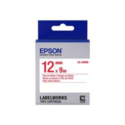 Nastro Epson - Labelworks lk-4wrn - rotolo di etichette - 1 cassetta(e) c53s654011