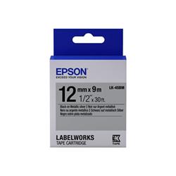 Nastro Epson - Labelworks lk-4sbm - rotolo di etichette - 1 cassetta(e) c53s654019