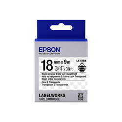 Nastro Epson - Labelworks lk-5tbn - rotolo di etichette - 1 cassetta(e) c53s655008