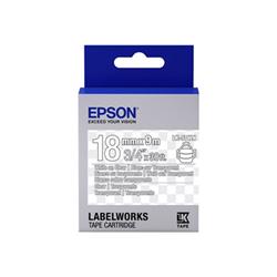 Nastro Epson - Labelworks lk-5twn - rotolo di etichette - 1 cassetta(e) c53s655009