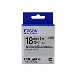 Nastro Epson - Labelworks lk-5sbe - rotolo di etichette - 1 cassetta(e) c53s655013