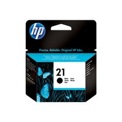 Cartuccia HP - 21 - nero - originale - cartuccia d'inchiostro c9351ae#uus