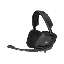 Corsair Gaming VOID Surround Hybrid - Casque - pleine taille - carbone - pour Xbox One, Xbox One S; Sony PlayStation 4, Sony PlayStation 4 Pro, Sony PlayStation 4 Slim