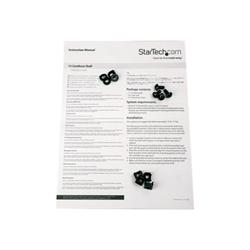 Startech - Startech.com scaffale per rack server 1u - profondità da 400 mm cabshelf1u10
