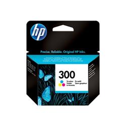 Cartuccia HP - 300 - colore (ciano, magenta, giallo) - originale cc643ee#uus
