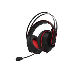 Cuffie con microfono Asus - Cerberus V2 Rosso