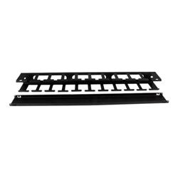Startech - Startech.com pannello gestione cavi orizzontale per armadi rack 1u con canalina