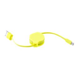 Custodia Puro - ICON CAVO MICRO USB 080M GIALLO FLU