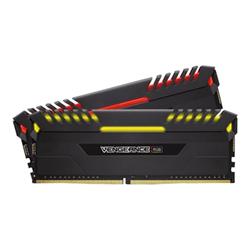 Memoria RAM Corsair - Vengeance rgb - ddr4 - kit - 16 gb: 2 x 8 gb - dimm 288-pin cmr16gx4m2c3000c15