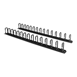 Startech - Startech.com pannelli di gestione cavi verticale per server rack con ganci ad a