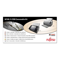 Fujitsu - Consumable kit: 3706-200k - kit materiali di consumo scanner con-3706-200k