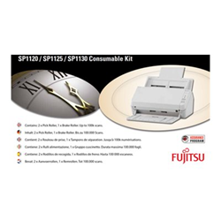 Fujitsu - Consumable kit: 3708-100k - kit materiali di consumo scanner con-3708-100k