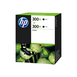 HP - Twin pack nero n 300xl