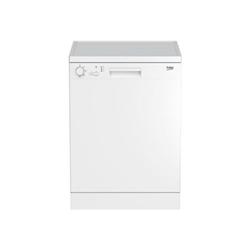 Lave-vaisselle Beko DFC04210W - Lave-vaisselle - pose libre - hauteur : 85 cm - blanc