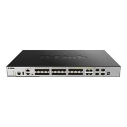 Switch D-Link - Dgs 3630-28sc - switch - 28 porte - gestito - montabile su rack dgs-3630-28sc/si