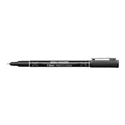 Penna Koh-I-Noor - Cf10penne a fibra calib0 3 nero