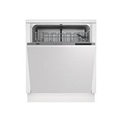 Lave-vaisselle encastrable Beko DIN14210 - Lave-vaisselle - intégrable - largeur : 59.8 cm - profondeur : 55 cm - hauteur : 81.8 cm