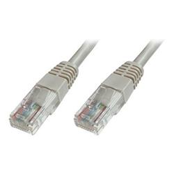 Cavo rete, MP3 e fotocamere ITB Solution - Cat5e u-utp pat.cable 1m grey