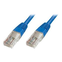 Cavo rete, MP3 e fotocamere ITB Solution - Cat5e u-utp pat.cable 1m blue