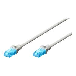 Cavo rete, MP3 e fotocamere ITB Solution - Cat5e u-utp pat.cable 1m white