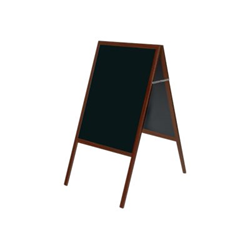 Lavagna Bi-Office - Lavagna nera con cavalletto