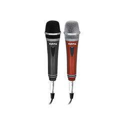 Microfono KARMA - Kit 2 microfoni dinamici