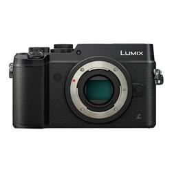 Appareil photo Panasonic Lumix G DMC-GX8M - Appareil photo numérique - sans miroir - 20.3 MP - Quatre tiers - 4K / 25 pi/s - 5x zoom optique objectif 12 - 60 mm - Wi-Fi, NFC - noir