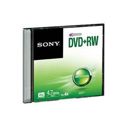 Sony - Dvd rx 4x 4.7gb slim case (120min)