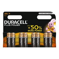 Pila Duracell - Power batteria - 8 x tipo aa - alcalina du0110