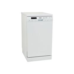 Lave-vaisselle Haier DW10-T1449 - Lave-vaisselle - pose libre - largeur : 45 cm - profondeur : 59.8 cm - hauteur : 84.5 cm - blanc