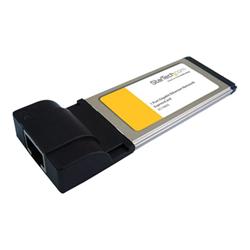 Image of Adattatore di rete Startech.com scheda di rete nic expresscard gigabit laptop ethernet 1 porta ec1