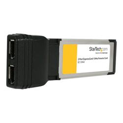 Image of Scheda PCI Startech.com scheda adattatore firewire expresscard laptop 1394a a 2 porte ec13