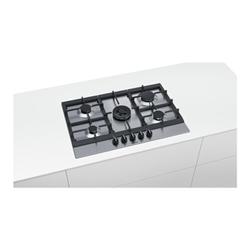 Piano cottura Siemens - Piano 75cm 4f   1 wok inox flamesel