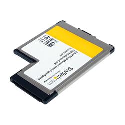 Scheda PCI Startech - Scheda expresscard/54 2x