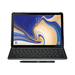 Cover Samsung - BOOKCOVER KEYBOARD BLACK TAB S4