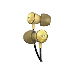 The House of Marley Nesta - Écouteurs avec micro - intra-auriculaire - or rose