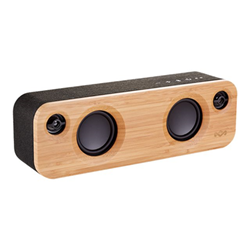 Speaker Wireless Bluetooth Marley - House of Get Together Mini Marrone, Nero