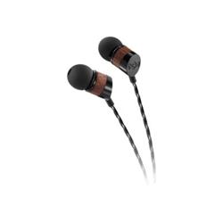 House of Marley Uplift - Écouteurs avec micro - intra-auriculaire - jack 3,5mm - noir minuit