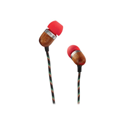 House of Marley Smile Jamaica - Écouteurs avec micro - intra-auriculaire - jack 3,5mm - Flamme