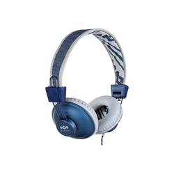 Cuffie con microfono Marley - Positive Vibration Blu