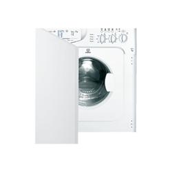 Lave-linge encastrable Indesit IWME 106 (EU) - Machine à laver - intégrable - largeur : 59.5 cm - profondeur : 55 cm - hauteur : 82 cm - chargement frontal - 52 litres - 6 kg - 1000 tours/min - blanc