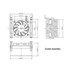 Ventola Startech.com ventola di raffreddamento cpu socket 478 85x70x50mm con dissipato