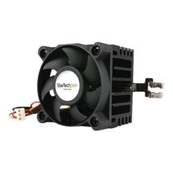 Image of Ventola Startech.com ventola cpu socket 7/370 50x50x41mm con dissipatore, tx3 e lp4 fa