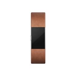 Braccialetto Fitbit - Braccialetto in pelle marrone S charge 2
