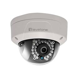 Digital Data - Levelone - telecamera di sorveglianza connessa in rete - cupola fcs-3086