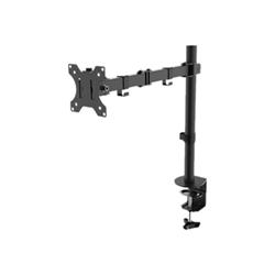 """Newstar - Full motion desk mount (clamp & grommet) for 10-30"""" monitor screen, height adju"""