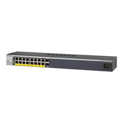 Switch Netgear - Gs418tpp - switch - 16 porte - intelligente - montabile su rack gs418tpp-100eus