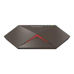 Switch Netgear - Nighthawk pro gaming sx10 - switch - 8 porte gs810emx-100pes